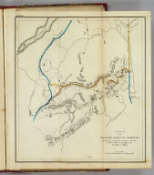 Sketch of the imaginary ranges of highlands. Reported by the British surveyors under the Treaty of Ghent, as extending across the State of Maine. (By Moses Greenleaf). W. Chapin Sculpt. N. York. (Portland, published by Shirley & Hyde, 1829)