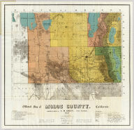 Official map of Modoc County, California. Compiled & drawn by A.M. Green, Civil Engineer. 1911. Approved, July 6th 1911 ...