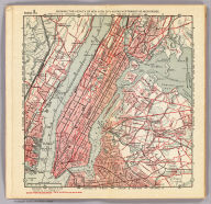 Section 1. Showing the vicinity of New York City as far northward as High Bridge. Copyright 1894, by R.D. Servoss.