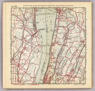 Section 4. Showing from Yonkers northward to Tarrytown, and eastward to Hartsdale. Copyright 1895, by R.D. Servoss.