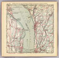 Section 7. Showing from Tarrytown northward to Oscawana, and eastward to Merritt's Corners. Copyright 1895, by R.D. Servoss.