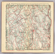 Section 9. Showing from Darien, Conn. northward to Trinity Lake, and Stanwich, Conn. eastward to Wilton, Conn. Copyright 1895, by R.D. Servoss.