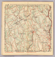 Section 9. Showing from Darien, Conn. northward to Trinity Lake, and Stanwich, Conn. eastward to Wilton, Conn. (1902)
