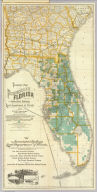 Township map of Peninsular Florida issued by the Associated Railway Land Department of Florida. 1890 ... Copyright, 1890, for the Associated Railway Land Department of Florida, By D.H. Elliott, General Land Agent. Matthews, Northrup & Co., Buffalo, New York.