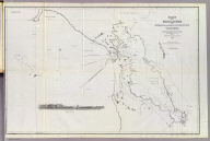 Chart of the Farallones and entrance to the Bay of San Francisco, California by Cadwalader Ringgold, Commander, U.S. Navy. Assisted by Simon F. Blunt, Lieut. U.S. Navy, 1850. Constructed, projected and drawn by Fred. D. Stuart, hydrographer, late of the U.S. Ex. Ex. C.B. Graham, Lithr., Washington, D.C. Entered ... 1851, by Cadwalader Ringgold ... District of Columbia.