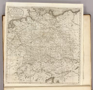 The Empire of Germany and the 13 Cantons of Switzerland from the best Authorities. J.T. Scott Sculp. Engraved for Carey's American Edition of Guthrie's Geography improved.