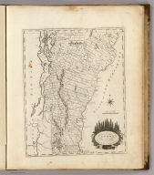 Vermont From actual Survey. Delineated & Engraved Amos Doolittle N.H. Engraved for Carey's American Edition of Guthrie's Geography Improved.