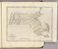 The State of Massachusetts, Compiled from the best Authorities By Samuel Lewis. Engraved for Carey's American Edition of Guthrie's Geography Improved by J.T. Scott.