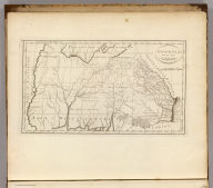 Georgia, from the latest Authorities. W. Barker, sculp. Engraved for Carey's American Edition of Guthrie's Geography.