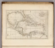 A Chart of the West Indies, From the latest Marine Journals and Surveys. W. Barker, sculp. Philada. Engraved for Carey's American Edition of Guthrie's Geography improved.