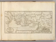 A Map of those Countries in which the Apostles Travelled: in propagating Christianity. Compiled and Engraved by Joseph T. Scott. Sold by the Publisher No. 65 Walnut street Philada.