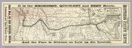 Map of the Northern Pacific Railroad and connections. Rand, McNally & Co., Engr's., Chicago.