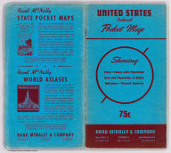 (Covers to) Rand McNally standard map of the United States ... Copyright by Rand McNally & Company, Chicago. Made in U.S.A.