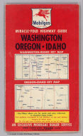 (Covers to) Washington - Oregon and Idaho. Copyright by James H. Grayson, Los Angeles. Lithographed in U.S.A. Published by General Petroleum Corporation, a Socony-Vacuum Company.