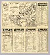 The Piedmont Air Line & connections. (1885)