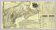 Map of the Boston and Maine Railroad and connections. Rand Avery Supply Co., Boston.