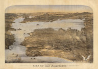 Birds eye view of the city of San Francisco and surrounding country. Drawn by George H. Goddard. Lith. Britton & Rey, S.F. Entered according to act of Congress in the year 1868 by Snow & May in the ... U.S. District Court for the Northern District of California.