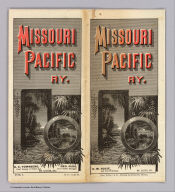 (Covers to) Missouri Pacific Ry. ... Rand, McNally & Co., Printers and Engravers, Chicago.