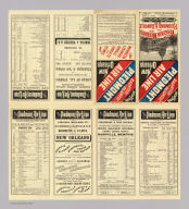 (Text Page to) New York, shortest and quickest, Piedmont Air Line, New Orleans, Washington, Lynchburg, Danville, Charlotte and Atlanta. Sept. 15th, 1885 ... C.G. Crawford, Printer and Stationer, 49 & 51 Park Place, N.Y.