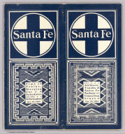 (Covers to) Santa Fe. The Atchison, Topeka & Santa Fe Railway and connecting lines. Oct. 10, 1904.