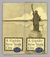 (Covers to) A guide to New York City issued by New York Central Lines. (on verso) Rand McNally & Co., New York. (with map) The heart of New York Grand Central Terminal. Only railway station on the subway, elevated and surface lines. New York Central Lines. Copyright, by Rand, McNally & Co., 1918, New York & Chicago. (on verso) Map of the New York Central Lines ... The Matthews-Northrup Works, Buffalo, N.Y.