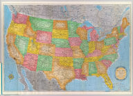 Rand McNally standard map of the United States. Copyright by Rand McNally & Company, Chicago. Made in U.S.A.