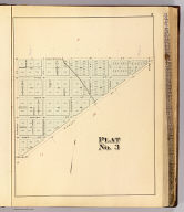 Plat no. 3 (San Francisco. Compiled and published by Wm. P. Humphreys & Co., A.B. Holcombe, W.C. Kewen. Eng. by Worley & Bracher ... Phila, Pa. Printed by F. Bourquin ... Phila, Pa. 1876.)