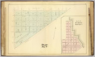 Plat no. 9 (San Francisco). (with) Plan of pumping district. (Compiled and published by Wm. P. Humphreys & Co., A.B. Holcombe, W.C. Kewen. Eng. by Worley & Bracher ... Phila, Pa. Printed by F. Bourquin ... Phila, Pa. 1876.)