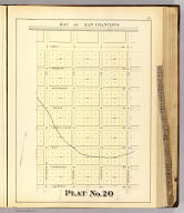 Plat no. 20 (San Francisco. (Compiled and published by Wm. P. Humphreys & Co., A.B. Holcombe, W.C. Kewen. Eng. by Worley & Bracher ... Phila, Pa. Printed by F. Bourquin ... Phila, Pa. 1876.)