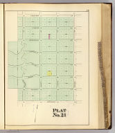Plat no. 21 (San Francisco. (Compiled and published by Wm. P. Humphreys & Co., A.B. Holcombe, W.C. Kewen. Eng. by Worley & Bracher ... Phila, Pa. Printed by F. Bourquin ... Phila, Pa. 1876.)