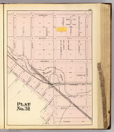 Plat no. 31 (San Francisco. (Compiled and published by Wm. P. Humphreys & Co., A.B. Holcombe, W.C. Kewen. Eng. by Worley & Bracher ... Phila, Pa. Printed by F. Bourquin ... Phila, Pa. 1876.)