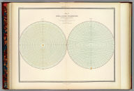 Map of the lines of equal polarization in the atmosphere constructed by Sir David Brewster, K.H., D.C.L., F.R.S., V.P.R.S., Edinr., corresponding member of the Institute of France. From four years observations. Engraved by W. & A.K. Johnston. William Blackwood & Sons, Edinburgh & London. 1st. March 1854, (1856)