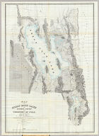 Map of the Great Salt Lake.