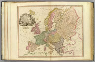Europe, exhibiting its principal states &c. London, published by W. Faden, Geographer to the King, Charing Cross, July 1st, 1791. W. Palmer, sculpt.