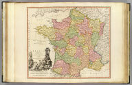 France, divided into provinces. By W. Faden, Geographer to the King. MDCCXC. London, published July 26, 1790, by Wm. Faden, Charing-Cross. W. Palmer sculpt.