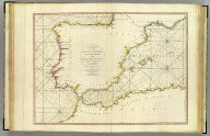 A chart of the coasts of Spain and Portugal, with the Balearic Islands, and part of the coast of Barbary. By L.S. De la Rochette. MDCCLXXX. 2d. edition. London: engraved & published as the Act directs, by Wm. Faden, successr. to the late T. Jefferys, Geogr. to the King. Charing Cross, June 28th, 1780.
