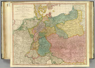 A new map of the German Empire, and the neighbouring states with their principal post roads, originally published by the Royal Academy of Berlin. Engraved with several additions and improvements by William Faden, Geographer to the King. London, published according to Act of Parliament June the 24th, 1788 by William Faden, corner of St. Martins Lane, Charing Cross.