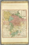 A new map of the King of Great Britain's dominions in Germany, or the Electorate of Brunswick-Luneburg and its dependencies. By Thomas Jefferys, Geographer to his Majesty with various improvements and emendations. London, published by W. Faden, Geographer to the King, Charing Cross, June 1st, 1789.