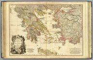 Greece, Archipelago and part of Anadoli. By L.S. de la Rochette, MDCCXC. London. Published for Willm. Faden, Geographer to the King. January 1st, 1791. W. Palmer sculp.