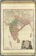 Hind, Hindoostan, or India. By L.S. de la Rochette. MDCCLXXXVIII. London, published by William Faden, Geographer to the King and to H.R.H. the Prince of Wales. 3d. edition with considerable improvements, June 1st, 1800. Wm. Palmer, sculp.