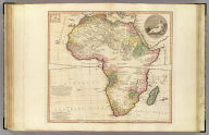 Africa. Auctor L.S. de la Rochette, 1782. London, published by W. Faden, Geographer to His Majesty and to H.R.H. the Prince of Wales, Charing Cross, Augt. 12th, 1803. Engraved by W. Palmer.