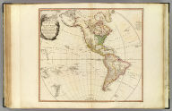 A map of America or the New World, wherein are introduced all the known parts of the Western Hemisphere, from the map of D'Anville, with the necessary alterations, and the addition of the discoveries made since the year 1761. London: published by W. Faden, Geographer to the King and to H.R.H. the Prince of Wales, Charing-Cross, April 12th, 1797. Wm. Palmer sculp.