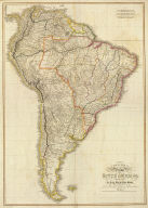 (Composite of) Colombia Prima or South America. Drawn from the large map in eight sheets by Louis Stanislas D'Arcy Delarochette. London: published by Wm. Faden, Geographer to His Majesty and to His Royal Highness the Prince of Wales, Charing Cross, March 1st, 1811.
