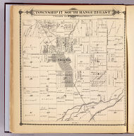 Township 17 South, Range 23 East, Tulare Co., California. (Compiled, drawn and published by Thos. H. Thompson, Tulare, Cal. 1892)