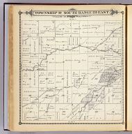 Township 19 South, Range 23 East, Tulare Co., California. (Compiled, drawn and published by Thos. H. Thompson, Tulare, Cal. 1892)