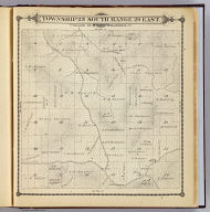 Township 23 South, Range 29 East, Tulare Co., California. (Compiled, drawn and published by Thos. H. Thompson, Tulare, Cal. 1892)