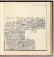 Range 21 East ... Range 24 East, Township 2 South ... Township 4 South. (Compiled, drawn and published ... by Thos. H. Thompson, Tulare, California, 1891)