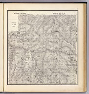 Range 22 East, Range 23 East, Township 5 South, Township 6 South. (Compiled, drawn and published ... by Thos. H. Thompson, Tulare, California, 1891)