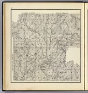 Range 22 East, Range 23 East, Township 8 South, Township 7 South. (Compiled, drawn and published ... by Thos. H. Thompson, Tulare, California, 1891)