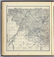 Range 19 East, Range 20 East, Township 10 South, Township 9 South. (Compiled, drawn and published ... by Thos. H. Thompson, Tulare, California, 1891)